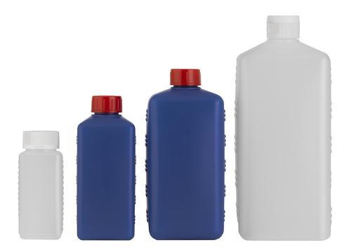 Rechteck-Flaschen Serie ANGOLO - Polyethylen (PE-HD)