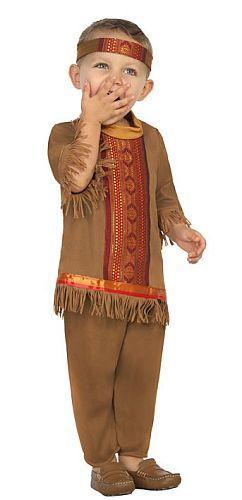 Costume Indien 6-12 et 12-24 mois