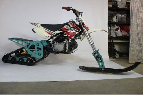 Snowbike KIT for motorcycle Pitbike