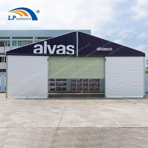 Tente d'entrepôt de mur sandwich en aluminium de 12 m