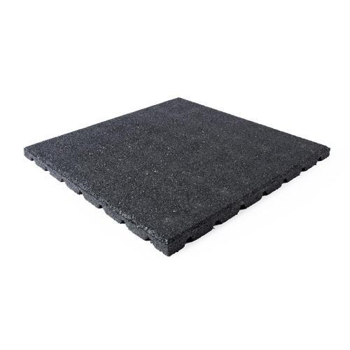 Terrassenplatte schwarz 50x50x2,5cm