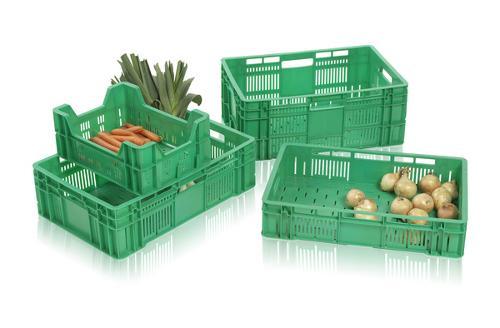 Stapelbehälter für Obst und Gemüse