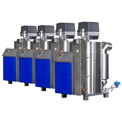 Mehrfachdampfanlagen für Dampfleistungen über 560kg/h