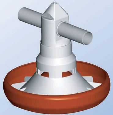 Feeder Broiler/Layer Spiralo Typ 45
