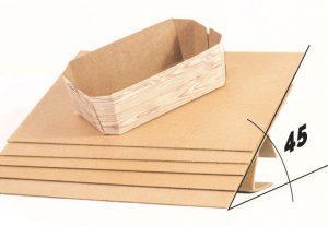 Plancha cartón ondulado antideslizante