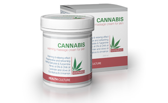 CANNABIS Warming Massage Cream