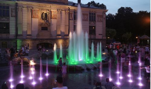Show fountain