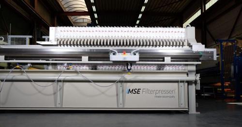 Filtre presse semi-automatique