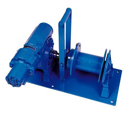 Treuils hydrauliques à câble
