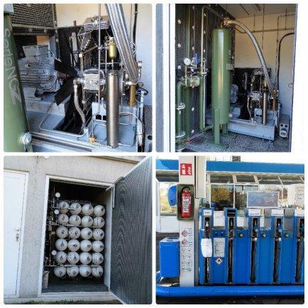 Оборудование для газовых заправочных станций