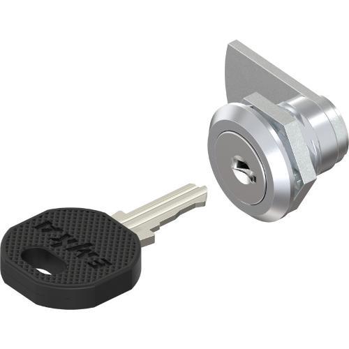 Chiusura 1/4 di giro con cilindro a chiave