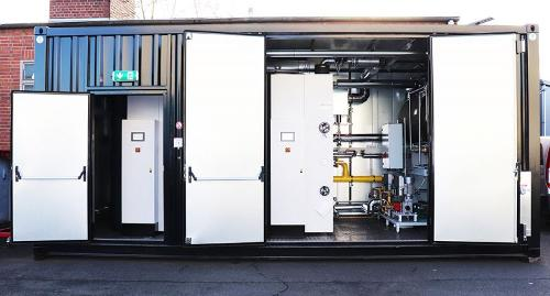 Container steam plant - Steam Boiler