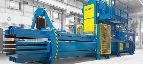Heavy duty channel bale press