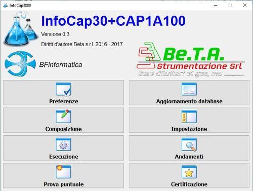Pacchetto software InfoCAP30