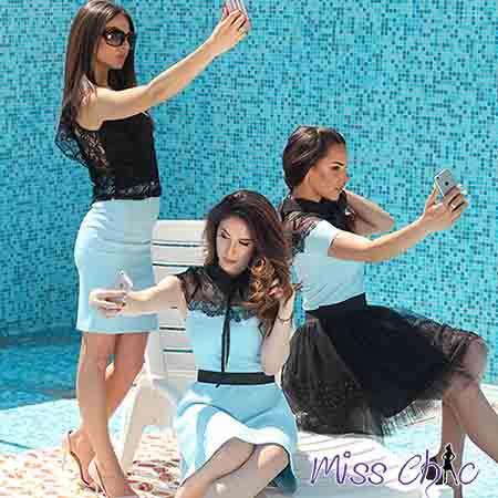 Blouse, Shirt, Skirt and Dress | MISS CHIC
