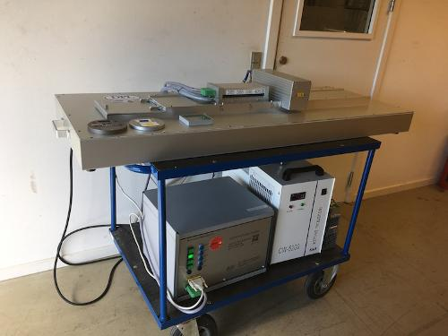 UV LED Ink testing system