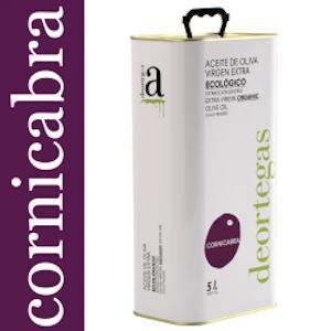 Biologische olijfolie extra vierge Cornicabra 5 ltr