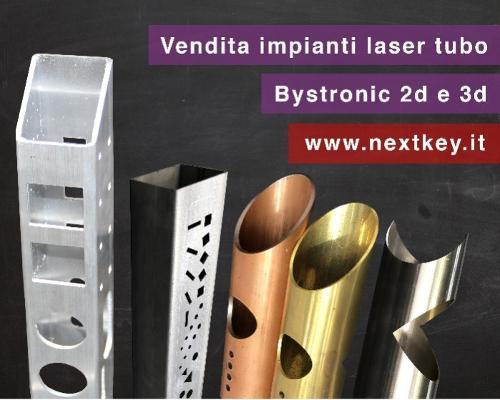 Impianti taglio laser tubo