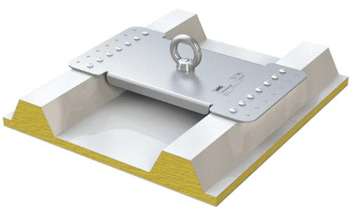 ABS-Lock X-Rivet Anschlagpunkt zur Absturzsicherung