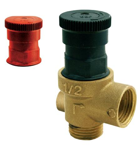 Safety Valves MF and FF with manometer holder