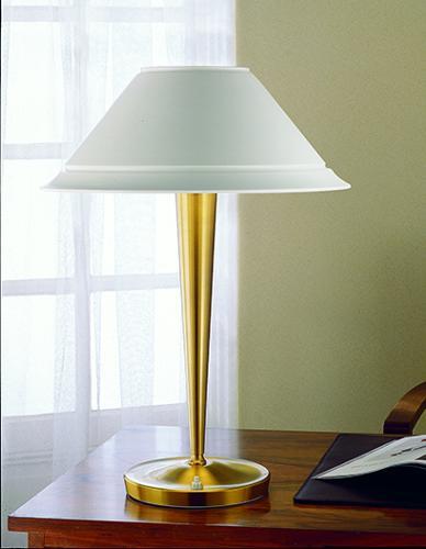 бронзовая художественная лампа