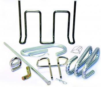 cintrage de fil métallique sur tous types de supports