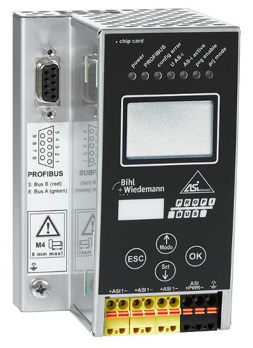 24 Volt AS-i 3.0 PROFIBUS-Gateway in Edelstahl