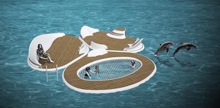 Luxury Floating Platform