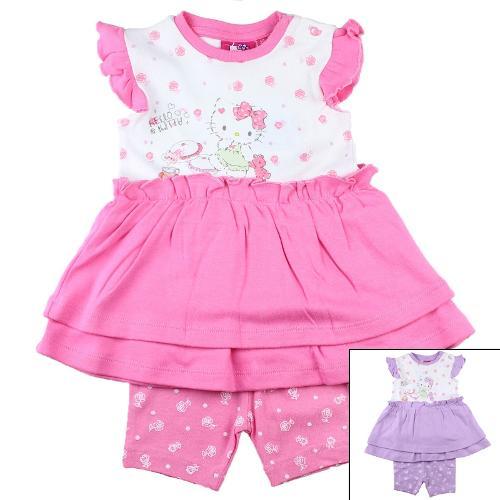 Grossiste d'ensemble de vêtement enfant Hello Kitty