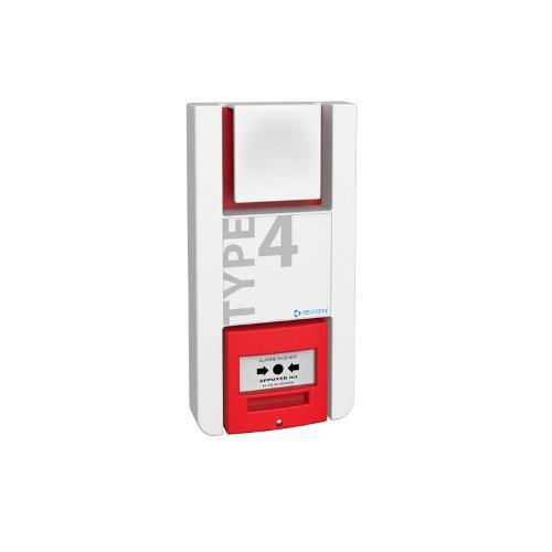 Alarme incendie type 4 radio - TT4P-RF - Fonctionne à piles