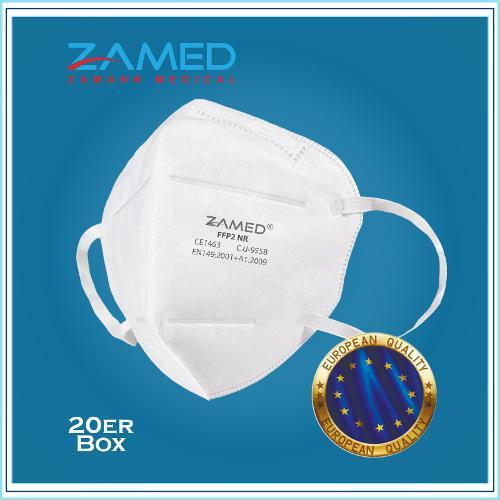FFP2 Atemschutzmasken (20er Box)