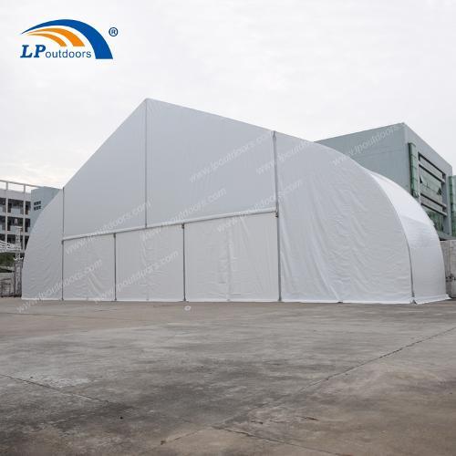 Construcție temporară Cort de depozit industrial