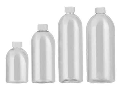 Rund-Flaschen Serie WEHLEN - Polyethylenterephthalat (PET)