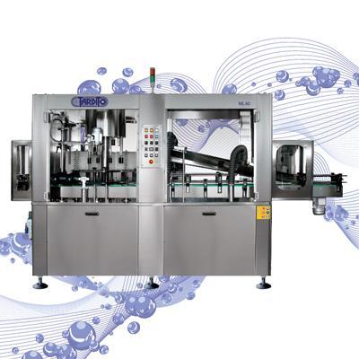 Lava-asciugatrici per bottiglie piene mod. RL30 e ML40