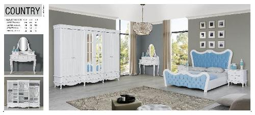 country bedroom set