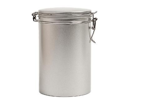 round coffee tin boxes