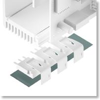 Silikonfolie glasfaserverstärkt TFO-D-SI 1,2 W/mK