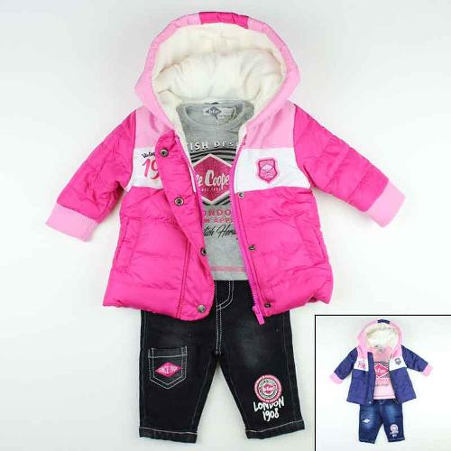 Wholesaler baby set of clothes Lee Cooper