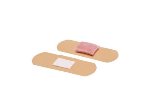 Self-activating pressure bandage Sureseal