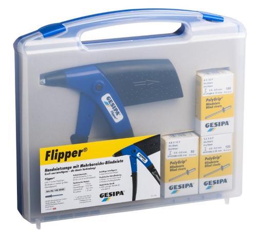 Flipper® Box (Hand-Blindniet-Setzgerät)
