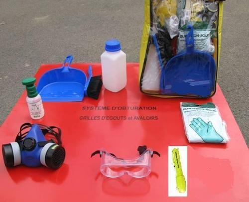 Kit ADR complet avec sacoche nylon V3