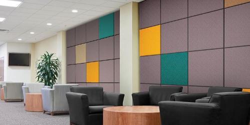 Sistemas de paneles de pared acústicos