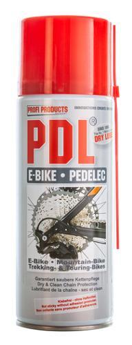 PDL® E-Bike / Pedelec - klebefreie Dry Lube Kettenschmierung
