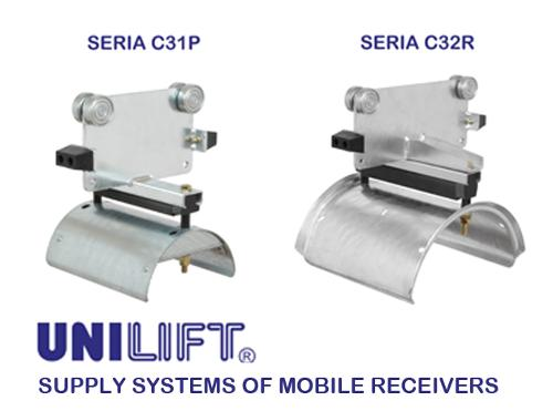 Cable trolleys for C-rail system - C3