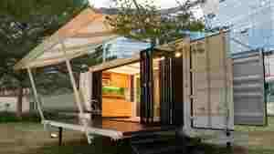 Maisons containers modulaires