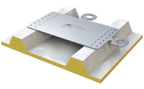 ABS-Lock X-Flat Anschlagpunkt zur Absturzsicherung