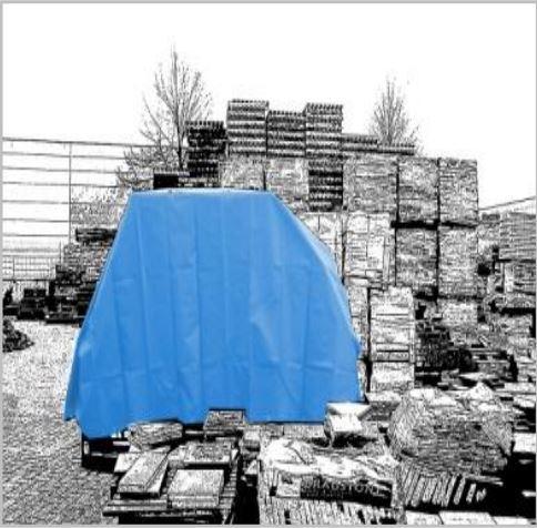 Bache plate 570 gr/m²