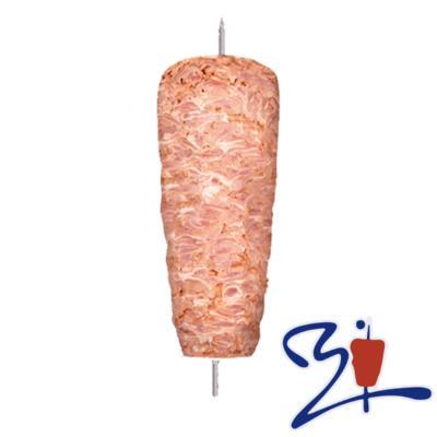 Doner Kebab Ternera en filetes y pavo 10 Kg