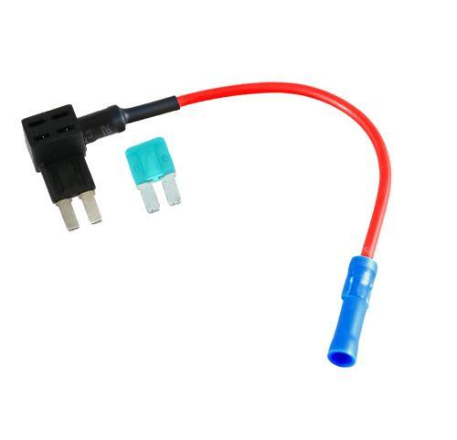 Zekeringhouder micro II + 15A Zekering
