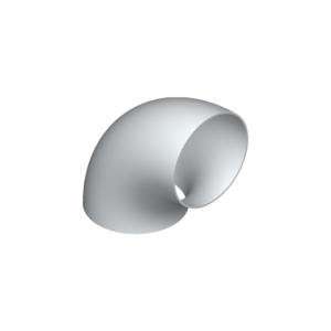 02090- Elbows, aluminium acc. to EN 754/755, EN AW 5083-0